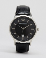 Emporio Armani AR2411 Leather Watch