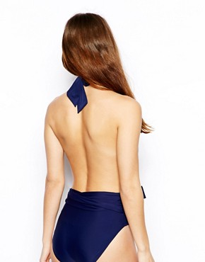 Image 2 ofASOS Plunge Backless Suit