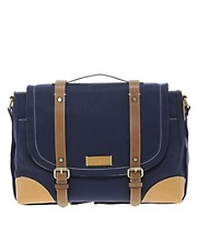 Ted Baker Canvas Messenger Bag