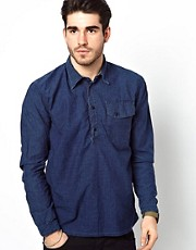 Nudie Shirt Cassius Overhead 1 Pocket