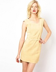 POP Cph Suede Dress with Belt