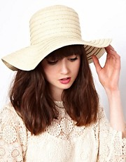 Sombrero floppy de paja de ASOS