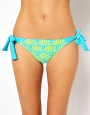 Freya - Fame - Slip bikini stampato con laccetti sui fianchi