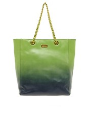 Moschino Cheap &amp; Chic Dip Dye Chain Shopper Bag