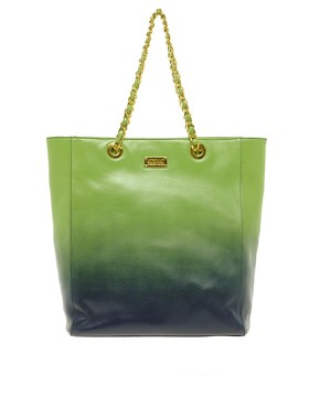 Image 1 ofMoschino Cheap &amp; Chic Dip Dye Chain Shopper Bag