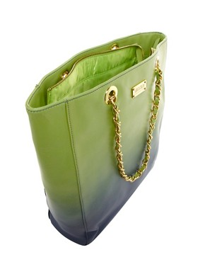 Image 2 ofMoschino Cheap &amp; Chic Dip Dye Chain Shopper Bag