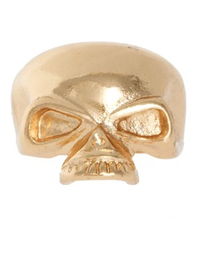 Image 2 of ASOS Skull Fangs Mega Ring Pack