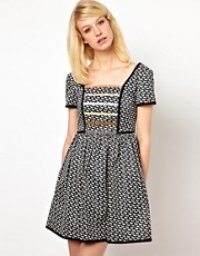 Orla Kiely Dress in Come Fly with Me Print