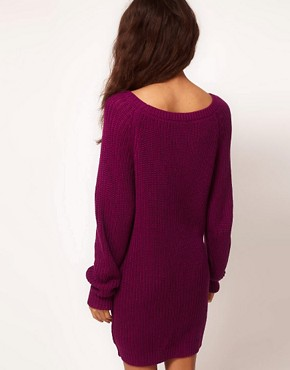 Image 2 ofASOS Cable Jumper Dress