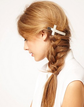 Image 1 ofASOS Cross Hair Barrette