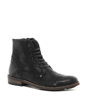 Image 1 ofFeud Vicious Shearling Lined Military Boots
