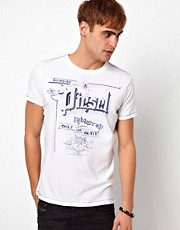 Diesel - T-Madron - T-shirt con logo stampato