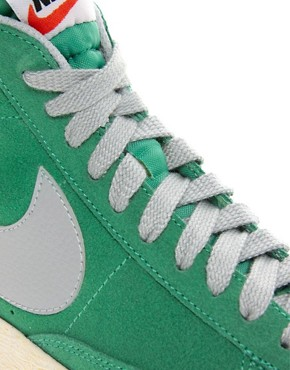 Image 2 ofNike Blazer Mid Mint High Top Trainers