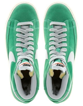 Image 3 ofNike Blazer Mid Mint High Top Trainers
