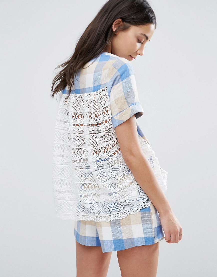 the-english-factory-plaid-top-with-lace-back-blue