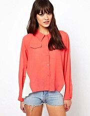Pippa Lynn Oversize Colourblock Shirt
