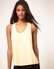 ASOS Woven Pocket Front Tank