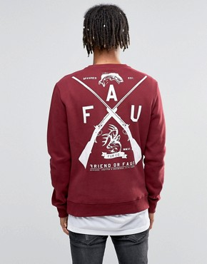 Friend or Faux Sweatshirt