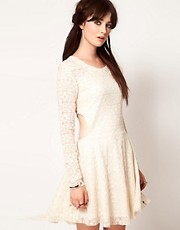 One Teaspoon Twilight Garden Lace Dress