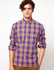 Levis Made &amp; Crafted Shirt With Flannel Check