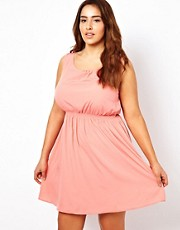 New Look Inspire Waisted Dress
