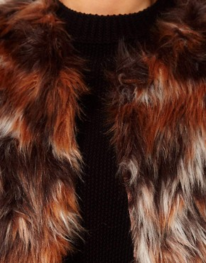 Image 3 ofASOS CURVE Exclusive Fur Gilet