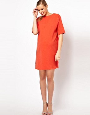 Image 4 ofASOS Maternity Ovoid Shift Dress