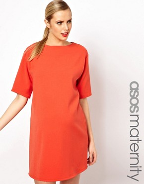 Image 1 ofASOS Maternity Ovoid Shift Dress