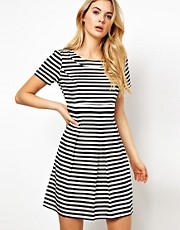 Vila Stripe Skater Dress
