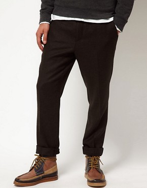 ASOS Slim Fit Suit Pants in Tweed