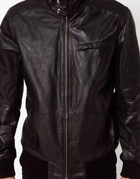 Image 3 ofCode Leather Jacket Bomber