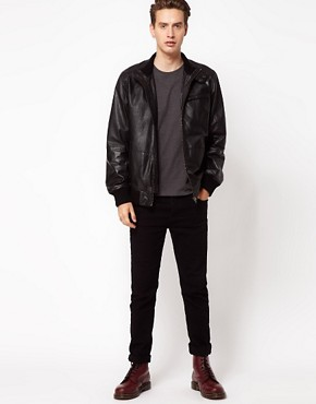 Image 4 ofCode Leather Jacket Bomber