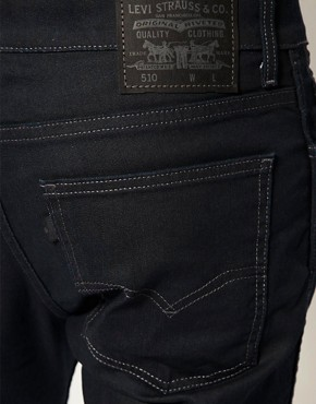 Image 3 ofLevis Line 8 510 Skinny Jeans
