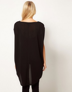 Image 2 ofASOS Tunic with Dipped Back Hem