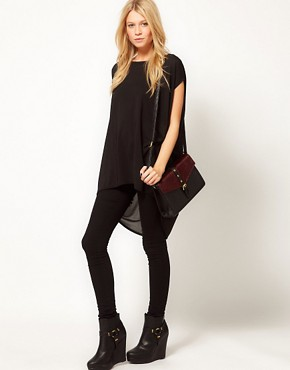 Image 4 ofASOS Tunic with Dipped Back Hem