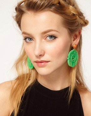 Image 2 ofKenneth Jay Lane Ornate Drop Earrings
