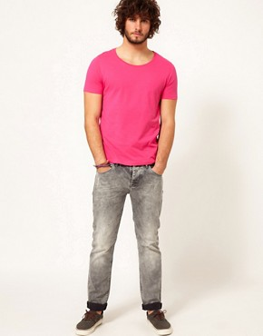 Image 4 ofASOS T-Shirt With Scoop Neck