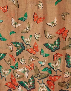 Image 2 ofOasis Oriental Butterfly Scarf