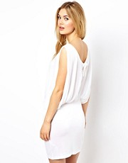 ASOS Jersey Cold Shoulder Slash Back Beach Cover Up
