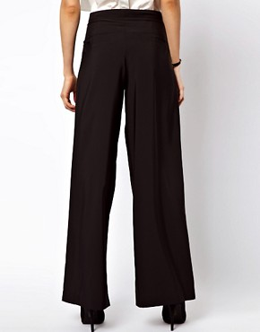 Image 2 ofASOS Trousers In Wide Leg