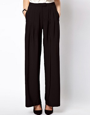 Image 4 ofASOS Trousers In Wide Leg