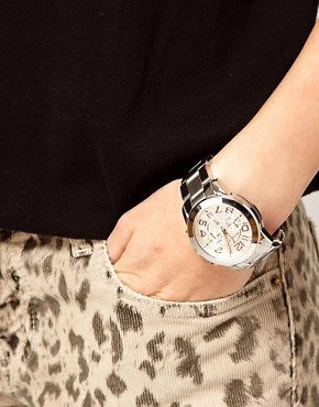Image 2 ofMichael Kors MK5725 Silver Chronograph Watch