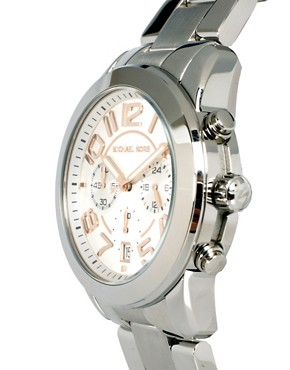 Image 3 ofMichael Kors MK5725 Silver Chronograph Watch