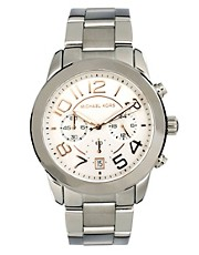 Michael Kors MK5725 Silver Chronograph Watch