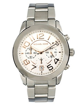 Image 1 ofMichael Kors MK5725 Silver Chronograph Watch