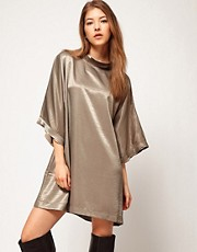 Kore by Sophia Kokosalaki Hammered Satin Tunic