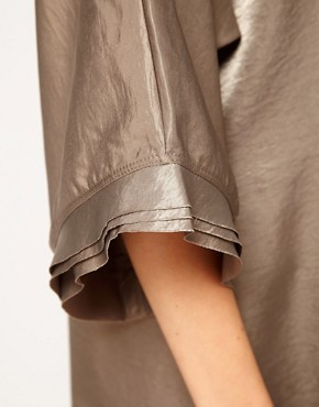 Image 3 ofKore by Sophia Kokosalaki Hammered Satin Tunic