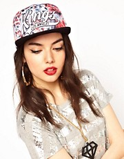 Zephyr Kings Floral Snapback Cap