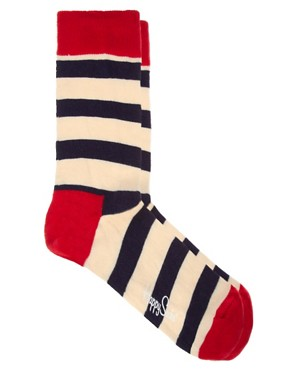 Image 1 ofHappy Socks Stripe Socks