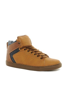 Image 1 ofRiver Island Swat Hi-Tops